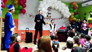 kids birthday parties entertainment magic show