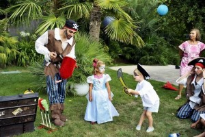 kids themed parties pirates