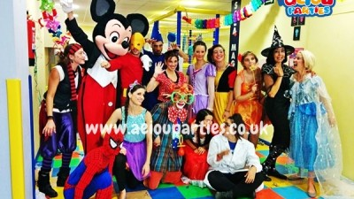 Aeiou children's party entertainers