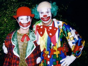 hire clowns for birthday parties clown show