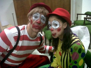 kids themed parties clown