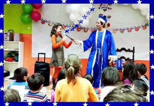 kids parties Magicians for hire