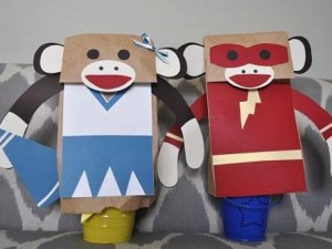 Puppets for kids at home