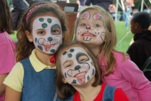 face painters hire dogs
