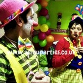 clowns 1st birthday parties london