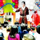 magic 1st birthday parties london