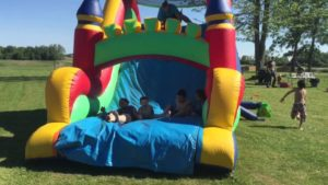 Bouncy castles for children's parties