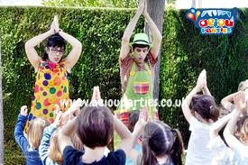 Choreographed song for kids party