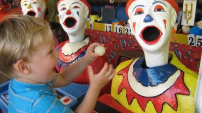 Clown themed parties for boys and girls