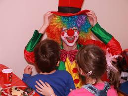 Clown themed parties kids