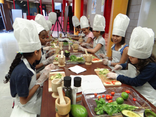 Cooking workshop for kids parties ideas