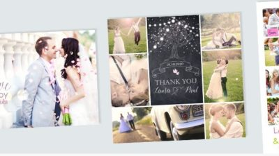 5 beautiful wedding thank-you cards