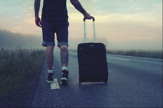 Viajar sin gastar dinero